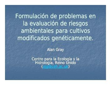 Formulación de problemas en Formulación de problemas ... - CERA