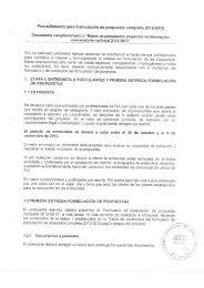 Procedimiento para formulación de propuesta completa 2012 ... - Fia