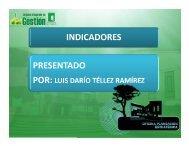 formulación o ajuste de indicadores - Universidad del Quindio