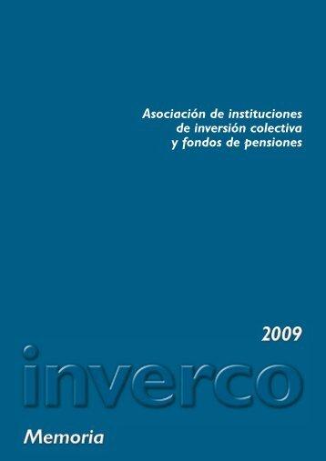 Memoria 2009.pdf - Inverco