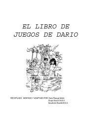EL LIBRO DE JUEGOS DE DARIO I - Catequesis Familiar Salta