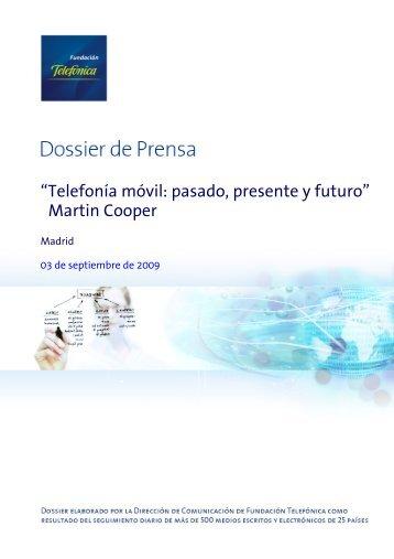 Dossier prensa Martin Cooper - La Servilleta de Paco Prieto