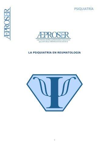 PSIQUIATRÍA - Sociedad Española de Reumatología