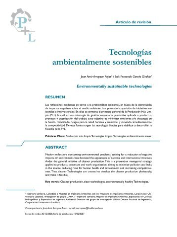 La biofertilizaci n como tecnolog a sostenible for Tecnologia sostenible