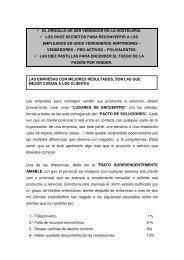 EL ORGULLO DE SER VENDEDOR EN LA HOSTELERÍA. LOS ...