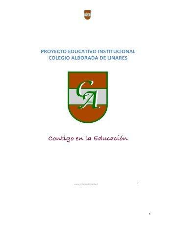 Proyecto Educativo - Colegio Alborada de Linares