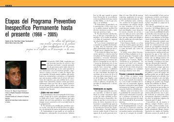 Etapas del Programa Preventivo Inespecífico ... - Sedronar
