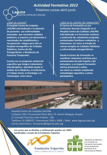 Diapositiva 1 - Hospital Centro de Cuidados Laguna