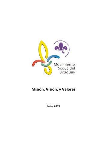 Misión, Visión, y Valores - Movimiento Scout del Uruguay