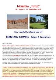 "Namibia ""total"" - Reiseagentur-behrens.de"