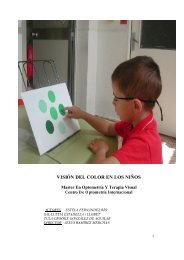 VISIÓN DEL COLOR EN LOS NIÑOS - Fundación Visión COI