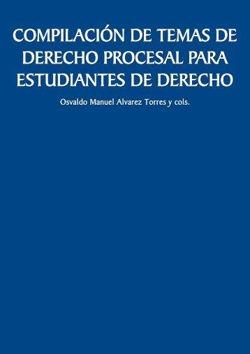 Compilación de temas de derecho procesal para estudiantes de ...