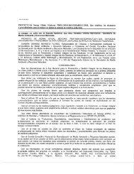 PROYECTO de Norma Oficial Mexicana PROY-NOM-160 ...