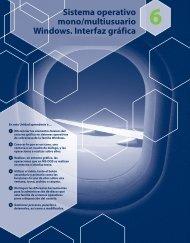 Sistema operativo mono/multiusuario Windows ... - McGraw-Hill