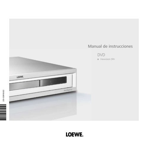 Manual de instrucciones DVD - Loewe AG > Aktuell