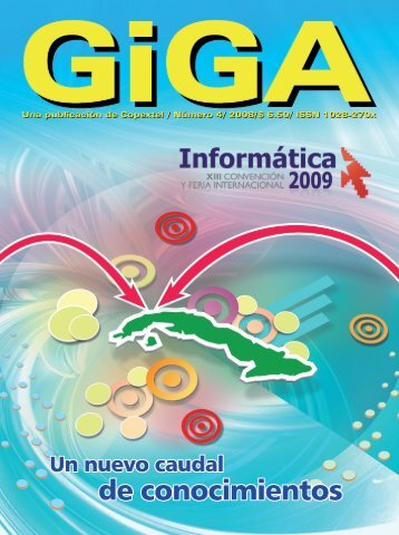 Giga. No. 4, 2008 - Editorial Universitaria