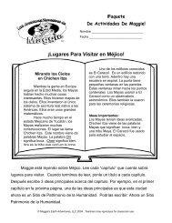 ¡Lugares Para Visitar en Méjico! - Maggie's Earth Adventures
