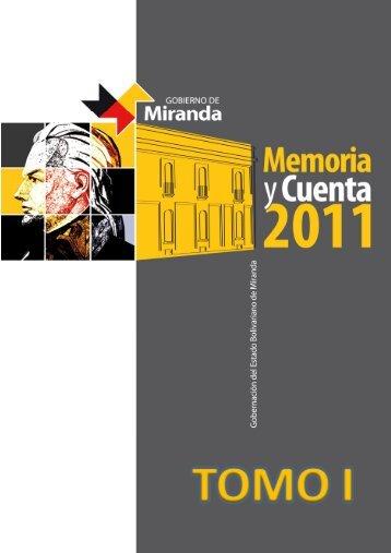 RA X - Gobierno del estado Miranda
