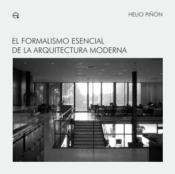 el formalismo esencial de la arquitectura moderna - e-BUC