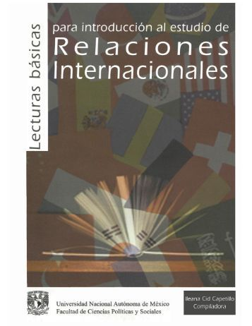 Lecturas básicas para introdicción al estudio de Relaciones ...