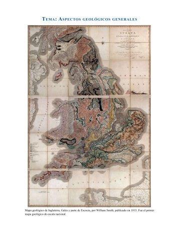 tema: aspectos geológicos generales - Instituto de Geología - UNAM