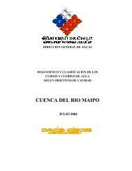 CUENCA DEL RIO MAIPO - Sinia