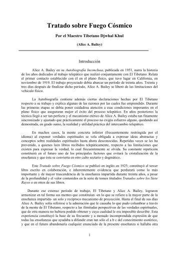 Tratado sobre Fuego Cósmico - SanctusGermanus.net