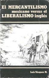 El MERCANTILISMO LIBERALISMO inglés