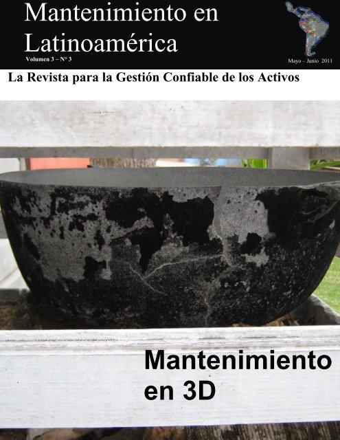 Mantenimiento en Latinoamérica Mantenimiento en 3D