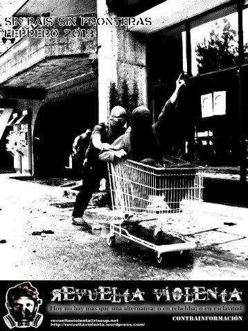 Revuelta Violenta-Publicación Anarquísta N°7, Febrero