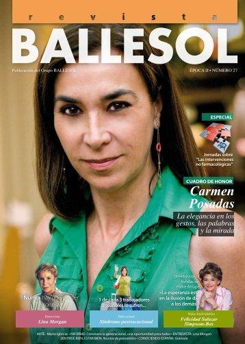 nº 27 – septiembre 2009 - Revista BALLESOL
