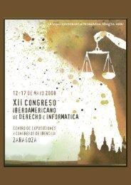 Actas del XII Congreso Iberoamericano de Derecho e Informática