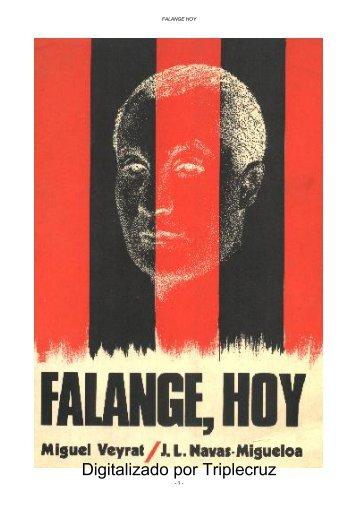 FALANGE, HOY - Zona Nacional