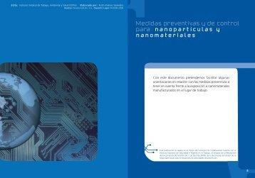 Medidas preventivas y de control para - Istas - CCOO