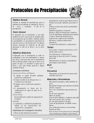 Protocolos de Precipitación - Programa GLOBE Argentina