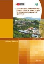 factores de riesgo y percepciones -quechua - Respira Vida