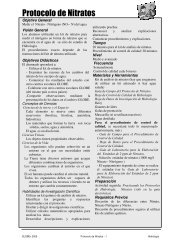 Protocolo de Nitratos - Programa GLOBE Argentina