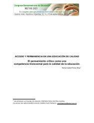 CONGRESO IBEROAMERICANO DE EDUCACION: METAS 2021