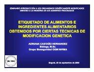 ETIQUETADO OGM - ILSI Nor-Andino