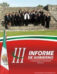 tercer informe - Municipio de Chimalhuacán