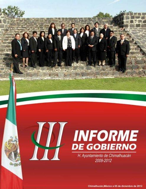 c90fe081a1 tercer informe - Municipio de Chimalhuacán