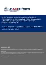 índice de presupuestos verdes - Programa para el Desarrollo Bajo ...