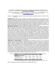 Plantaciones Forestales - Reuniones Nacionales de Investigación e ...