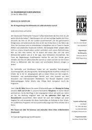 Unterlagen zu Schule und Kurzfilm (PDF-Dokument)