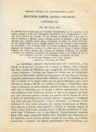 SEGUNDA PARTE: ÉPOCA COLONIAL - Biblioteca Virtual de Yucatán