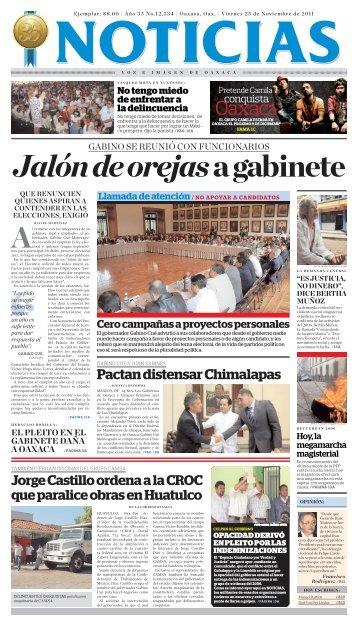 noviembre,2011 - Noticias Voz e Imagen de Oaxaca