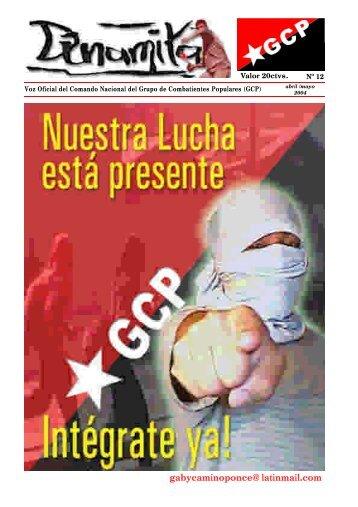 gabycaminoponce@latinmail.com - Centro de Documentación de ...