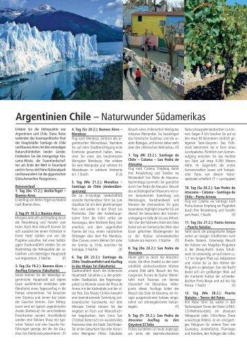 argentinien_chile_rsb. azur_2011.qxp - Reisebüro Azur