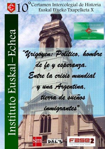 Cuadernillo Recopilación Historiográfica - Daniel Gustavo Miniello ...