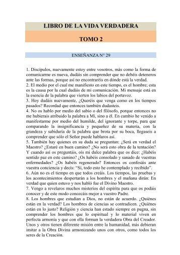 VIDA VERDADERA TOMO 2.pdf - El Libro de la Vida Verdadera